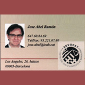 ADVOCAT Jose Abel Ramón