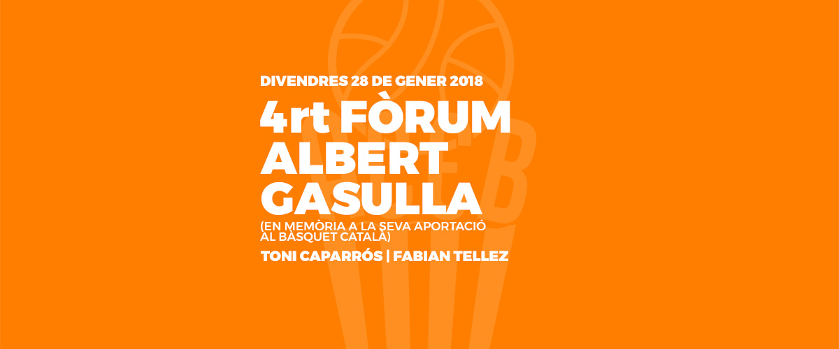 4RT FÒRUM ALBERT GASULLA