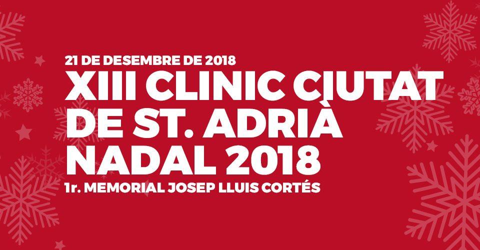 21 de desembre 2018 | XIII Clínic Ciutat de St. Adrià Nadal 2018