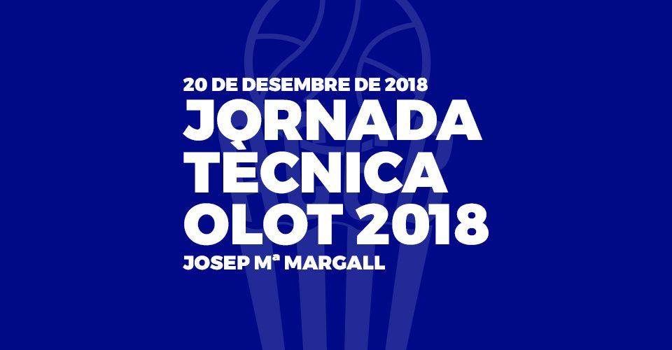 Jornada Tecnica Olot 2018